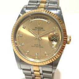 TUDOR チュードル   76213G メンズ腕時計 プリンス デイデイト 10Pダイヤ 腕時計 SS/K18YG イエローゴールド メンズ