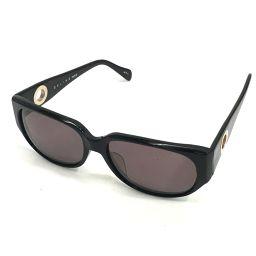 CELINE セリーヌ  CLF-786 ロゴ金具リング ファッション小物 メンズ レディース サングラス プラスチック ブラック ユニセックス【中古】