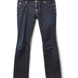 DSQUARED2 Dsquared Jeans Jeans D Logo Denim Pants Denim Blue Women 【Used】