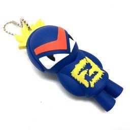FENDI フェンディ   バッグチャーム USB バグ キーホルダー ゴム素材/ レディース