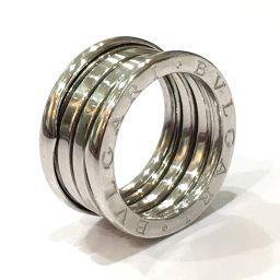 BVLGARI ブルガリ  メンズ レディース ジュエリー B-zero1 ビーゼロワン リング・指輪 K18YG/ 12号 K18WG ユニセックス【中古】