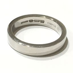 BVLGARI ブルガリ  マリーミー ウェディング リング メンズリング リング・指輪 Pt950 17号 プラチナ メンズ【中古】