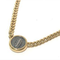 BVLGARI ブルガリ   メンズ レディース モネーテ 古代コイン 2面チェーン 喜平 ネックレス ネックレス K18YG イエローゴールド