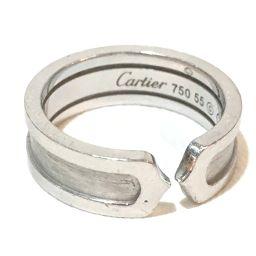 CARTIER カルティエ   B4040500 2C リング リング・指輪 K18WG 15号 ホワイトゴールド レディース
