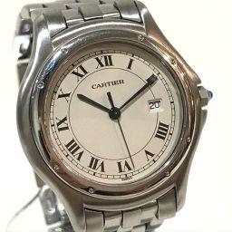CARTIER カルティエ   メンズ腕時計 パンテール クーガー  LM 腕時計 SS シルバー メンズ