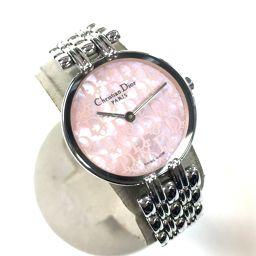 Christian Dior クリスチャンディオール   D44-120 バギラ  腕時計 SS/ シルバー レディース