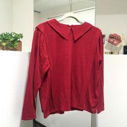 Christian Dior クリスチャンディオール   ロングTシャツ タグ有 長袖 トップスその他 ボルドー レディース