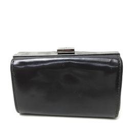 GUCCI グッチ   030・2184 財布 がま口 小銭入れ コインケース レザー/ ダークブラウン レディース