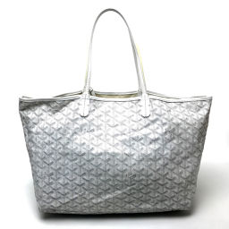 GOYARD Gojar Shoulder Bag San Luis GM Pouch with Tote Bag Towar Gojar White Women