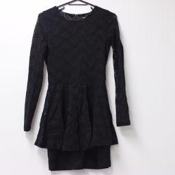 EMODA Emoda 90800 Dress One Piece Black Ladies [Pre]