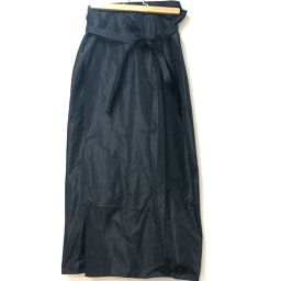 GIANFRANCO FERRE ジャンフランコ・フェレ   ロングスカート スカート シルク/ナイロン ブラック レディース