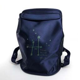 HERMES エルメス   バックパック リュックサック シェルパ 星を巡る旅展 限定販売 リュック・デイパック ナイロン/ ネイビー ユニセックス