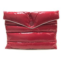 moncler Moncler 68950 BUSTA PIUMINO Tokyo Ginza 1st Anniversary Limited Document Bag Clutch Nylon Red Unisex