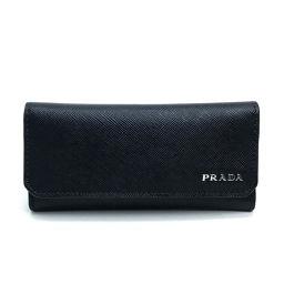 PRADA プラダ   2M0223 鍵 ロゴ キーケース 6連キーケース メンズ レディース キーケース サフィアーノレザー ブラック
