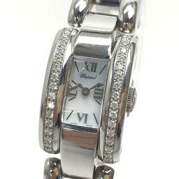 Chopard Chopard 41 / 8446-20 Roman Letter La Strada Diamond Bezel Wrist Watch SS / Diamond Silver Ladies