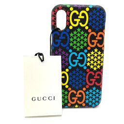 GUCCI Gucci 603758 GG Psychedelic iphoneX / XS Smartphone Cover iPhone Case PVC Unisex Multicolor