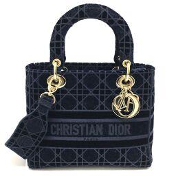 <html>    <body>   Christian Dior クリスチャンディオール M0565O レディーディオール ディーライト カナージュ エンブロイダリー ミディアムバッグ ハンドバッグ ベルベット レディース ネイビー ネイビー        </body> </html>