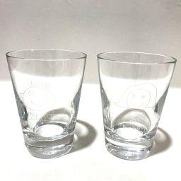 Baccarat Baccarat Pear Tumbler Cup Glass 2 Piece Set Bonne fete papa & maman Glass Crystal Clear Unisex