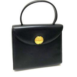GIVENCHY ジバンシィ   トートバッグ 金具付替え可能  ハンドバッグ レザー/ ブラック レディース