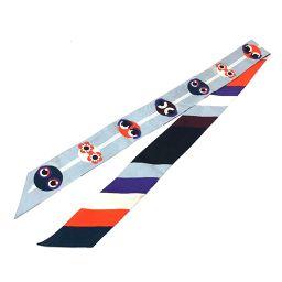 FENDI フェンディ   FXT011 8MW TU ラッピー バグズモンスターデザイン  スカーフ シルク/ マルチカラー レディース