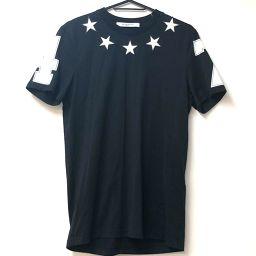 GIVENCHY ジバンシィ   トップス スターモチーフ  15S 半袖Tシャツ コットン/ ブラック メンズ