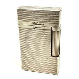 Dupont デュポン  メンズ レディース モンパルナス ライン2 ライター 真鍮 シルバー ユニセックス【中古】
