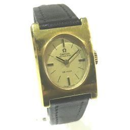 OMEGA オメガ   レディース腕時計 DE VILLE デ・ビル 腕時計 GP/革ベルト ゴールド レディース