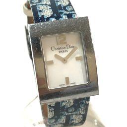 Christian Dior クリスチャンディオール   D78-109 レディース腕時計 マリス トロッター 腕時計 SS/革ベルト シルバー レディース
