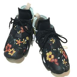 Y-3 ワイスリー   B26258 YOHJI YAMAMOTO シューズ 靴 フラワーモチーフ スニーカー/ラバーソール ブラック×マルチカラー メンズ