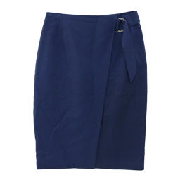 United Arrows Bell Trap Skirt / 1524-240-4317/36 / Blue / UNITED ARROWS next day delivery possible / b 190 216 ■ 229 768