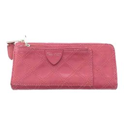 In translation, Marc Jacobs L-shaped zipper wallet Stitch / Pink / MARC JACOBS Next day delivery possible / b191204 ■ 320150
