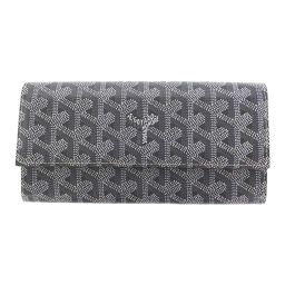 Super Goyal long wallet flap / gray / GOYARD next day delivery possible / b200307 ■ 333904