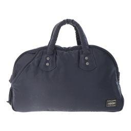 Porter Yoshida bag Boston bag / black × orange / PORTER next day delivery possible / b 190 711 ■ 298865