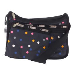 LeSportsac LITHO DOT ・ DELUXE EVERYDAY BAG ・ Shoulder bag Multi dot / Dark gray / LeSportsac / b200311 ■ 328371