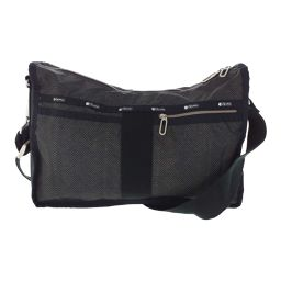 LeSportsac Herringbone Black Shoulder Bag / Grey / Black / LeSportsac Next Day Delivery Available / b200303200328228