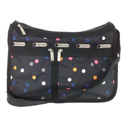 Super LeSportsac Dot Shoulder Bag Multi Dot / Grey / Multi / LeSportsac Next Day Delivery Available / b200311 ■ 328264