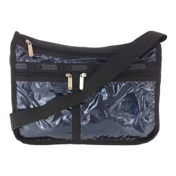 Super LeSportsac Shoulder Bag / Metallic Navy / Black / LeSportsac Next Day Delivery Available / b200311 ■ 328266