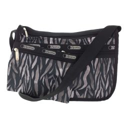 Super LeSportsac Shoulder Bag With Pouch / Black / Grey / LeSportsac Next Day Delivery Available / b200311 ■ 328268