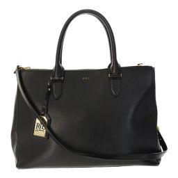 Ralph Lauren 2WAY grain leather shoulder bag / black / RALPH LAUREN next day delivery possible / b 190 701 ■ 297 173