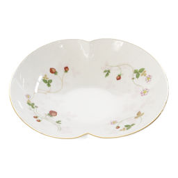 Wedge wood deep dish dishes / white × red / WEDGWOOD next day delivery possible / b 190 720 ■ 296 646