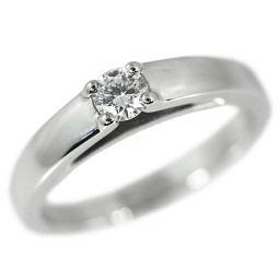 ブルガリ マリー・ミー 1P・ダイヤモンドリング・指輪/Pt950-6.2g/0.19ct-FVS1VG/GIA/11号/#51/プラチナカラー/BVLGARI■216280