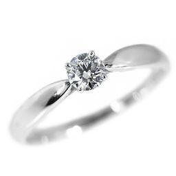ティファニー ハーモニー/HARMONY・ダイヤモンド(エンゲージ・)リング・指輪/Pt950-3.3g/0.22ct-DVS13EX/10号/#50 翌日配送可/h181204■223548