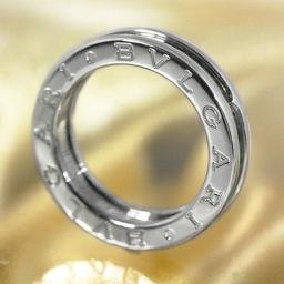 ブルガリ ビーゼロワン/B-ZERO1-XSサイズ・1バンドリング・指輪/K18WG/750-5.9g/9号/#49/ホワイトゴールド/BVLGARI 翌日配送可■203994
