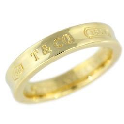 ティファニー 1837・ナロー・無垢リング・指輪/K18YG/750-6.0g/9号/#49/イエローゴールド/TIFFANY & Co. 翌日配送可■207078