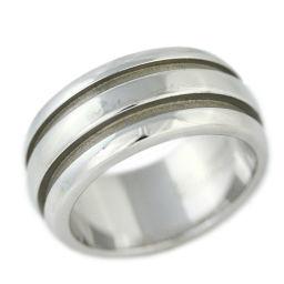 ティファニー グルーブドリング・指輪/Sv925-9.4g/13号/#53/シルバー/TIFFANY & Co. 翌日配送可■218850