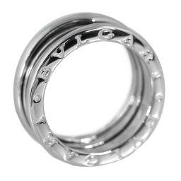 ブルガリ ビーゼロワン/B-ZERO1・2バンドリング・指輪/K18WG/750-7.6g/13号/#53/ホワイトゴールド/BVLGARI 翌日配送可/h190309■280415