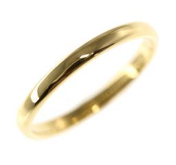 ティファニー クラシックバンド・2mm ウェディングリング・指輪/K18YG/750-1.8g/9号/#49/イエローゴールド/TIFFANY & Co./h191119■317587
