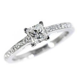 ティファニー ティファニーグレース・ダイヤモンドリング・指輪/Pt950-3.4g/0.41ct-GVVS1/レポート付/8.5号/TIFFANY & Co. ■212487