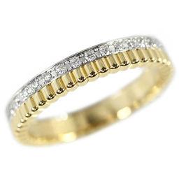 ブシュロン キャトル・ラディアント・FOLLIE 34P・ダイヤモンドリング・指輪/K18/3.9g/12号/#52/BOUCHERON 翌日配送可■219928