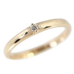 エテ シンプルライン 1P・ダイヤモンドリング・指輪/K18PG/750-1.9g/0.03ct/9号/#49/ピンクゴールド/ETE 翌日配送可/h181220■225465